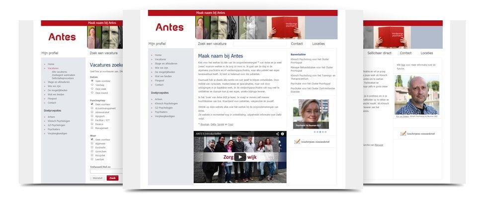 werken bij Antes
