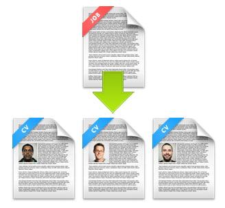 Gebruik van CV parsing voor het matchen van kandidaten