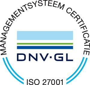 Managementsysteem certificate ISO 27001
